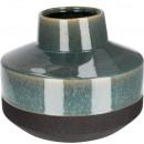 wholesale Flowerpots & Vases: Ceramic vase Luton , D26cm, H20,5cm, dark ...